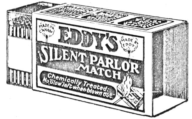 The eddy match company